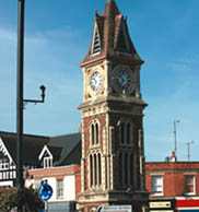 Clock Tower Newmarket Suffolk